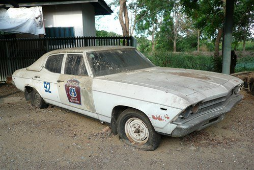 Thailand Chevelle 'Shark ' Cop Car 1963