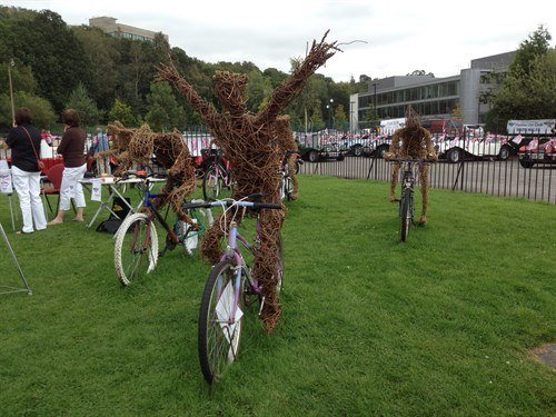 Cyclist Wicker Man