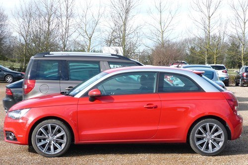 Audi A1 S Line Red Side 700