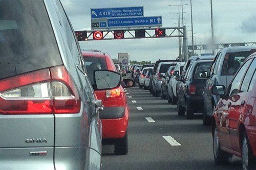Traffic UK Motorway M25 Galaxy