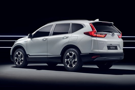 113240_Honda _to _unveil _CR_V_Hybrid _Prototype _at _Frankfurt _Motor _Show