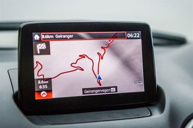 Mazda CX3 2017 Satnav Screen