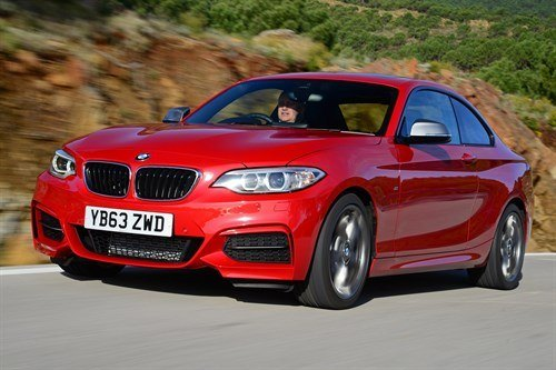 BMW 2-Series Coupe 2017 F34 Red