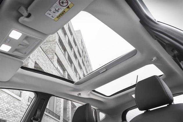 Ford Fiesta Vignale Panoramic Roof