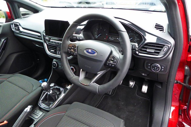 Ford Fiesta ST Line 2017 Cockpit