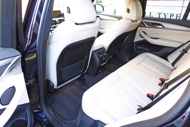 BMW X3 G01 2018 Rear Seats 1
