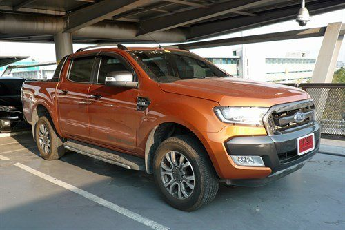 Ford Ranger 2016 Double Cab Orange