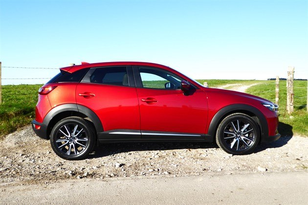 Mazda CX3 2017 Side Facing Right