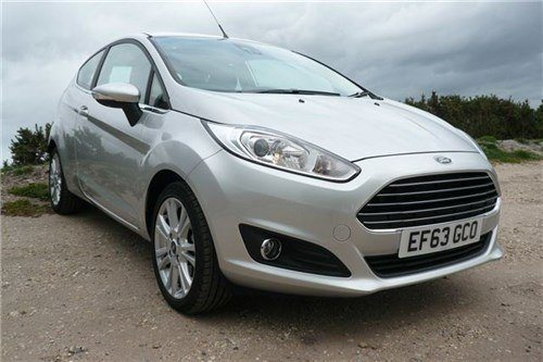 Ford Fiesta Powershift 2013 3-dr F34