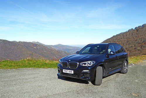 BMW X3 G01 2018 F34 Mountains Closer
