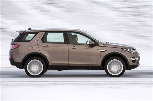 LR Discovery Sport Side