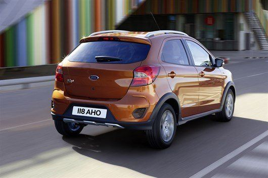 Ford Reveals New Ka  Active  U0026 39 Crossover U0026 39