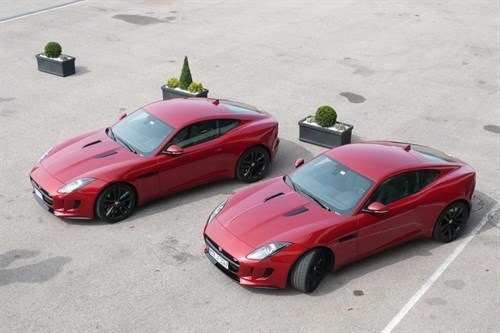 Jag F Type Cpe Pair Red Tops