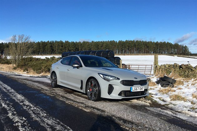 KIA Stinger 2018 Slushy Road 1