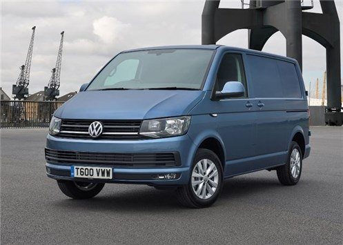 VW T6 Transporter Panel Van (1)