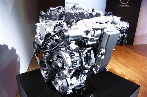 Mazda Skyactiv -X Engine Supercharger