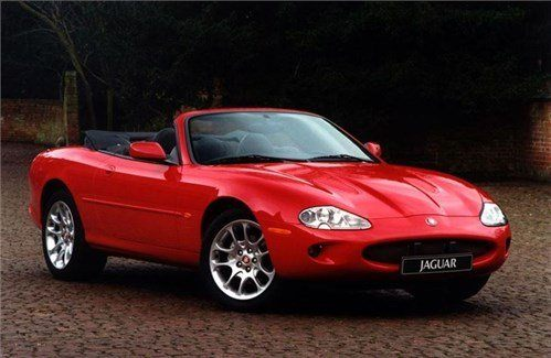 Jaguar XK8 Roadster F34 Red