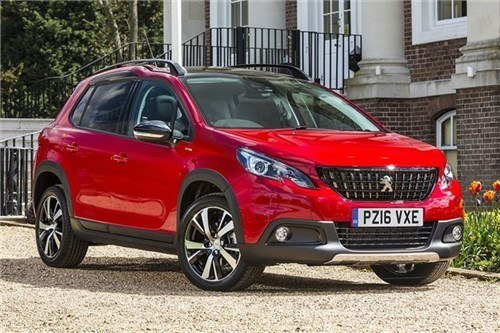 Peugeot 2008 2016 F34 Red