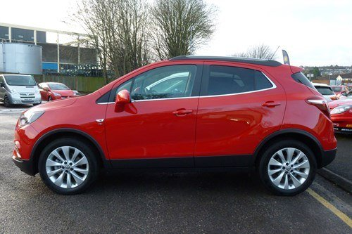Vauxhall Mokka X Elite 2018 Side (1)