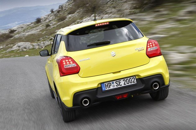 Suzuki Swift Sport 2018 Rear Speed
