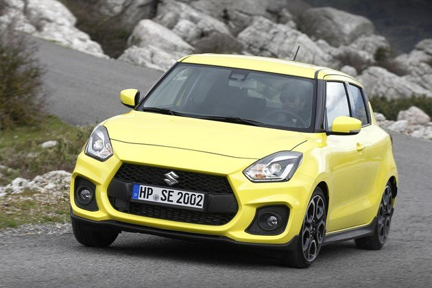 Suzuki Swift Sport 2018 F34 Cornering
