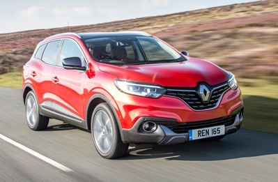 Red Renault Kadjar