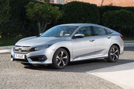New Honda Civic saloon heading to the UK
