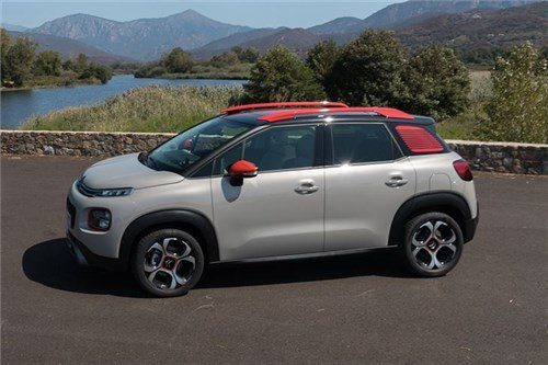 Citroen C3 Aircross 2017 Front Side (1)