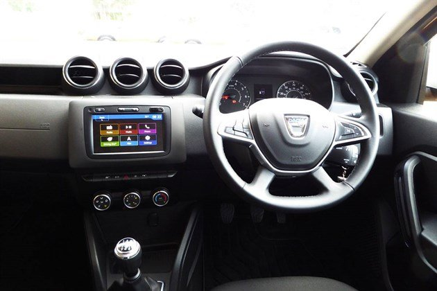 Dacia Duster 2018 Dash 1