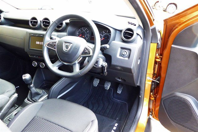 Dacia Duster 2018 Cockpit