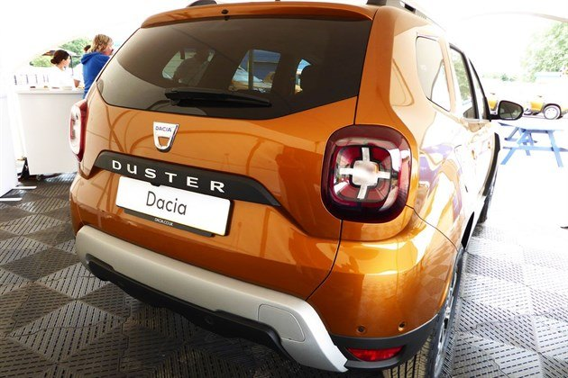 Dacia Duster 2018 Rear Light
