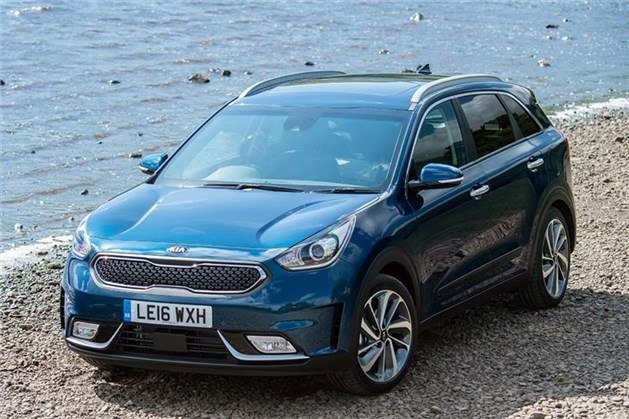 Kia Niro 2016 F34 Blue By Water