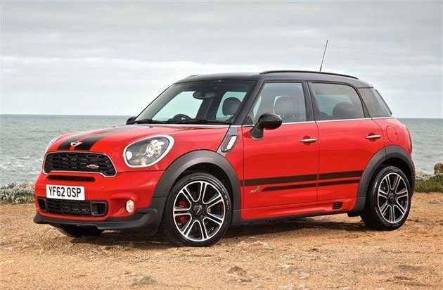 MINI Countryman JCW Red