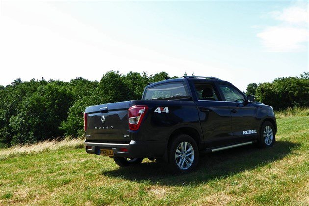 Ssang Yong Musso 2018 Rebel R34