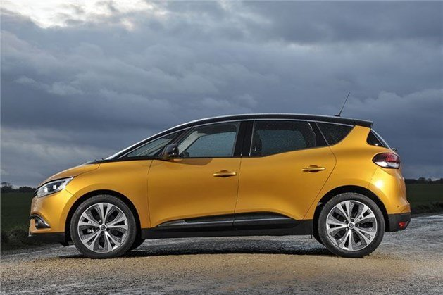 Renault Scenic 2017 Side
