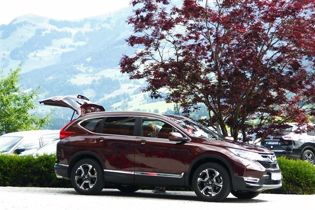Honda CR-V 2018 7-seat Hatch Open