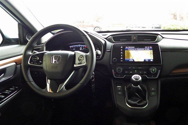 Honda CR-V 2018 5-seat Dash Closer