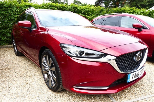 Mazda 6 Tourer 2018 F34 Lights