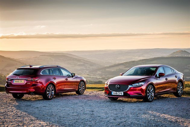 Mazda 6 Tourer And Saloon 2018 Red