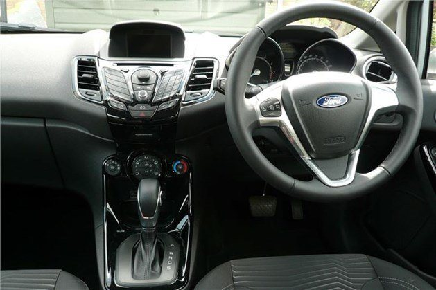 Ford Fiesta Powershift Dash