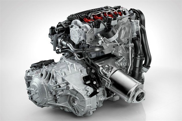 Volvo Drive -E Engine And Transmission