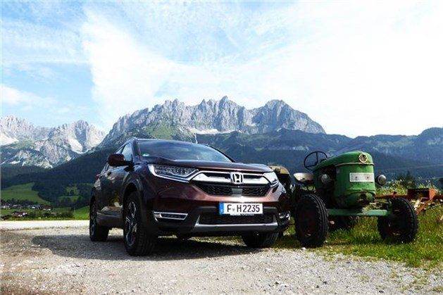 Honda CR-V 2018 With Tractor
