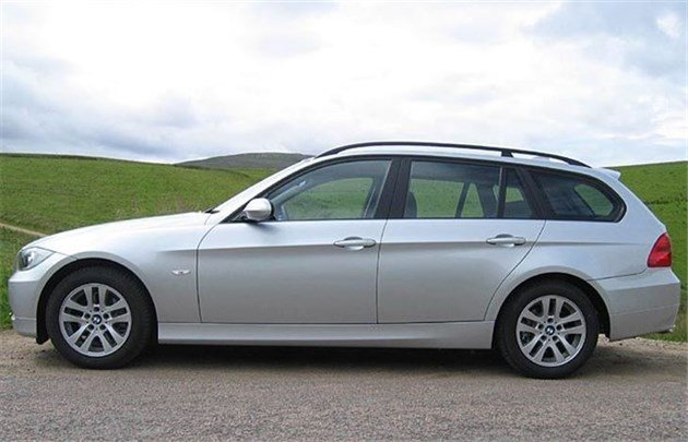 BMW E91 3-Series Touring Side