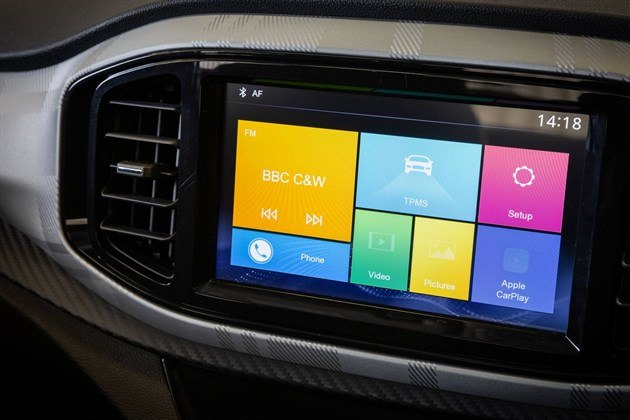 MG3 2019 Touch Screen 1