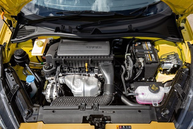 MG3 2019 Yellow Engine