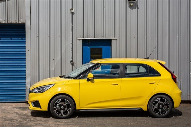 MG3 2019 Yellow Side