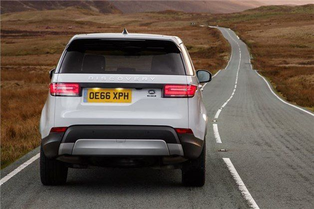Land Rover Discovery 5 Rear