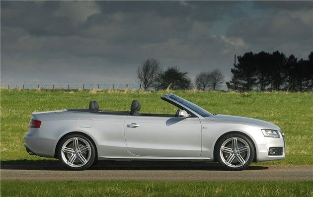 Audi A5 Cabriolet 2009-2017 Side Grey