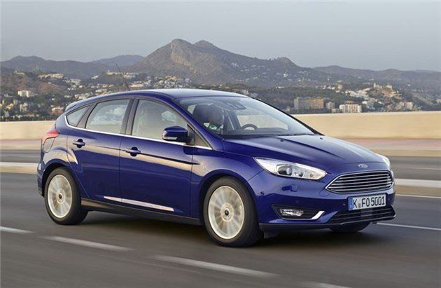 Ford Focus 2014 F34 Road