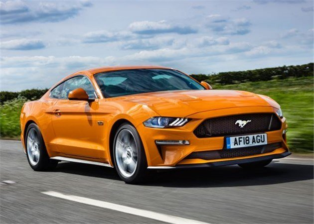 Ford Mustang 2018 Facelift F34 Road